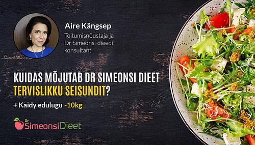 TV3 Naudime Elu: Mis on Dr Simeonsi dieedi mõju tervisele? | Kaidy edulugu